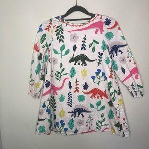 Mini Boden Florasaurus Dinosaur Dress 7-8